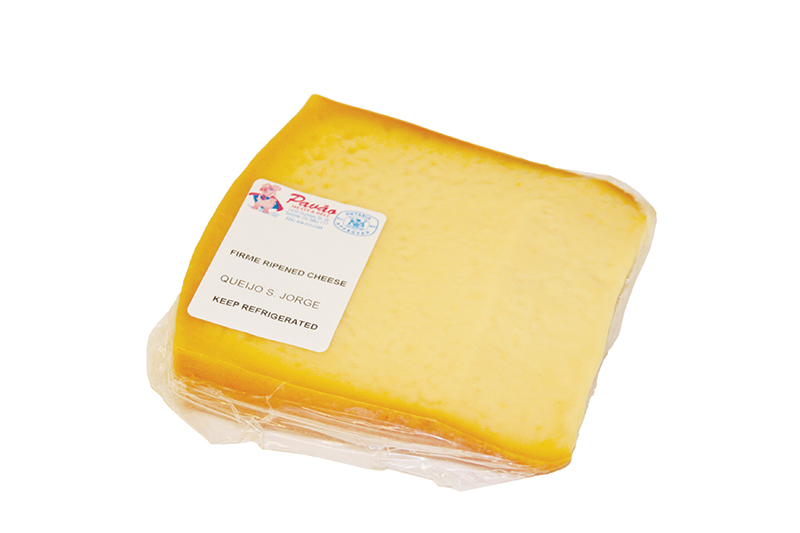 Sliced St Jorge cheese