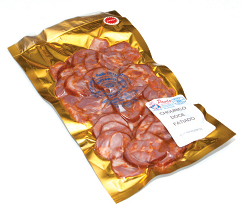 Sliced Sweet Portuguese Sausage