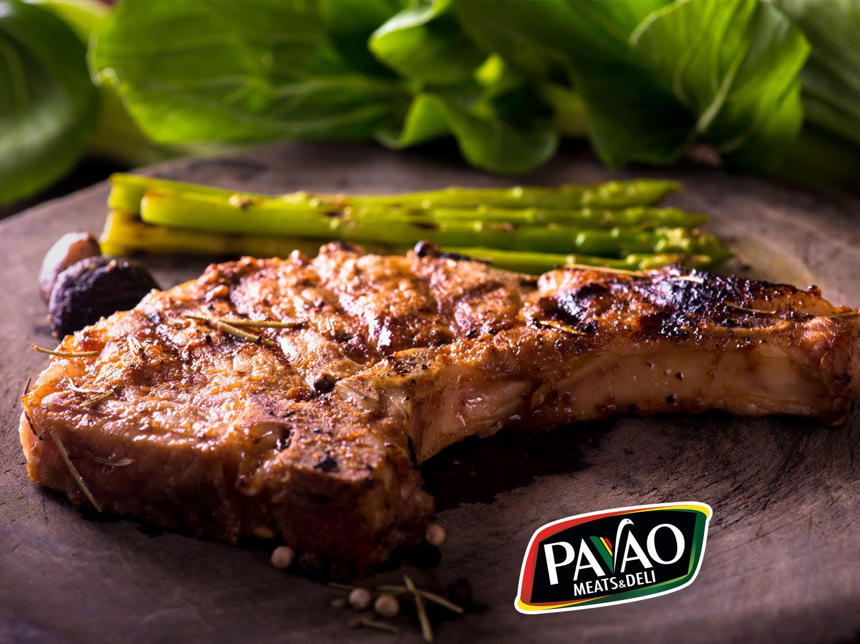 Pork Chops Au Poivre Recipe — Dishmaps
